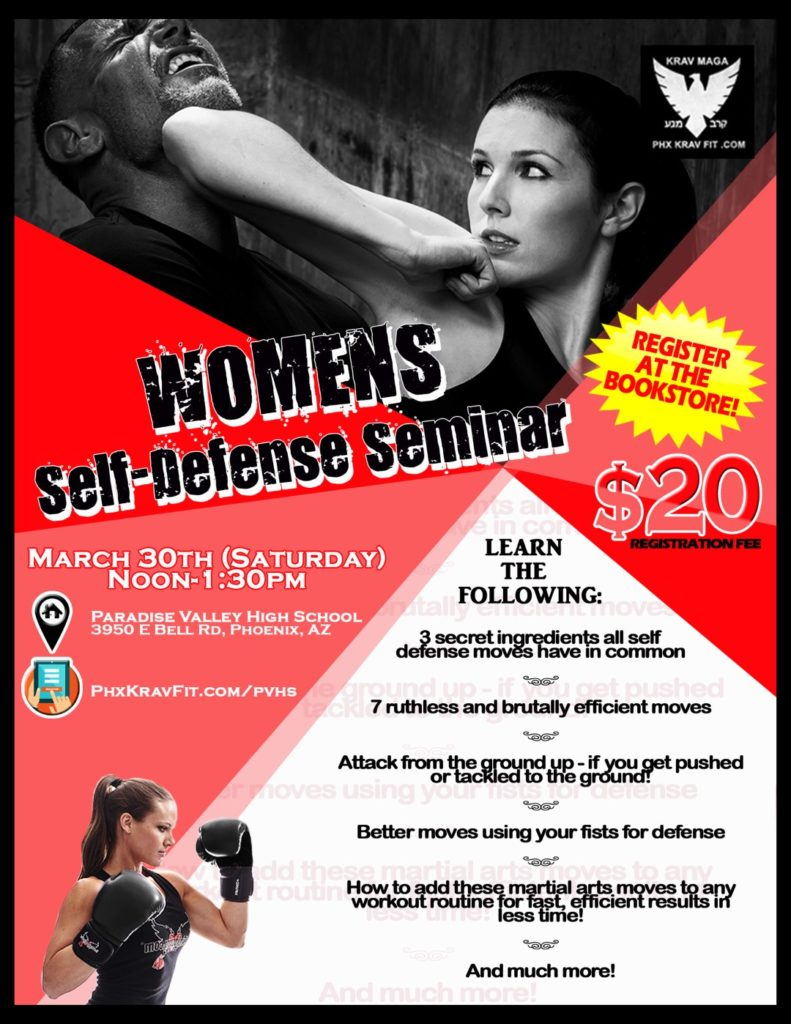 Womens Self Defense Mar 2019