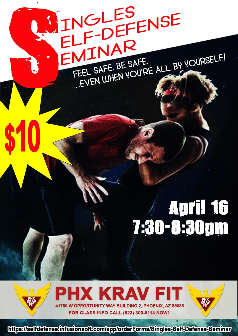 Singles Self Defense Seminar