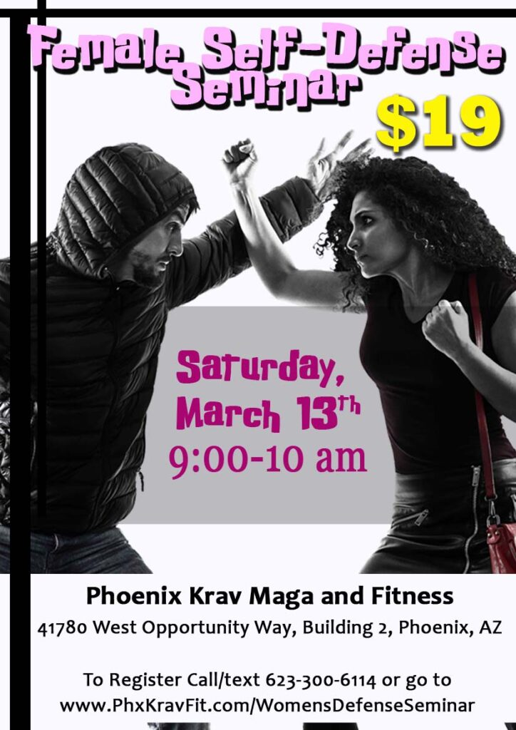 aa-Female Self-Defense Seminar 2020